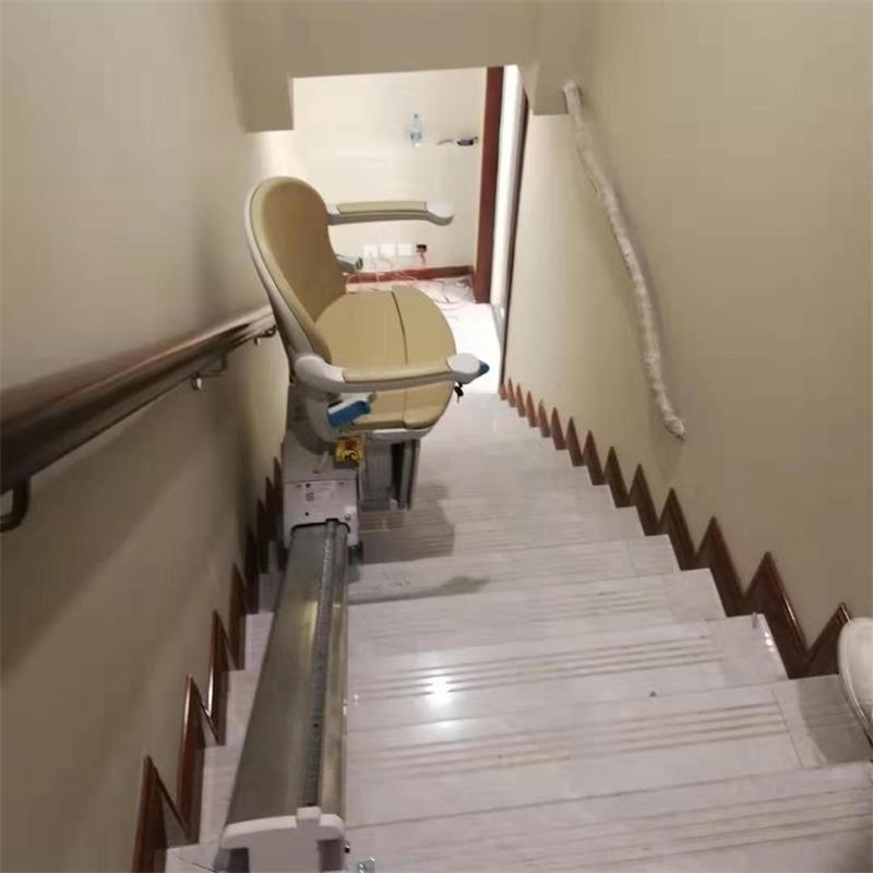 河北唐山直线型斜挂座椅电梯安装