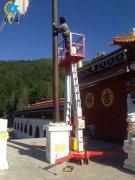 14米双柱铝合金ballbet贝博网站发货到江苏