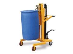 脚踏式油桶搬运车